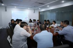 Longliqi supply chain system held monthly staf